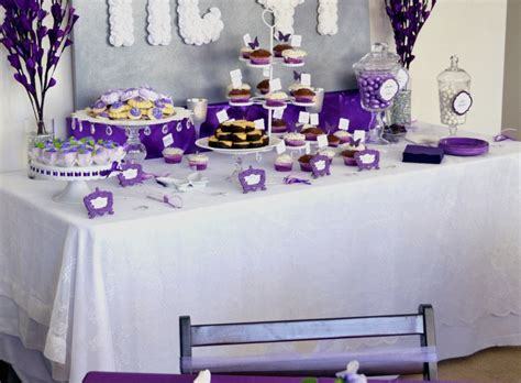 Wedding Shower Decorations by Wedding Shower Decoration Ideas Awesome Purple Bridal