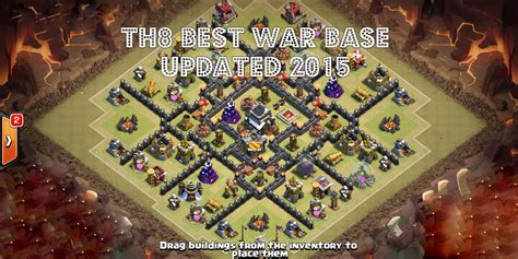 unstoppable war town hall 8 base clash of clans town hall level 8 best war trophy base