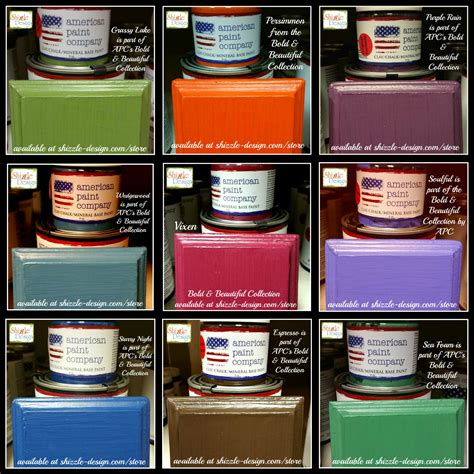 chalk paint american american paint company s bold beautiful color collection