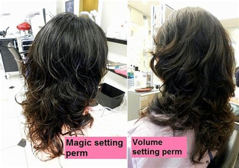 digital perm highlighted hair volume volume perm korean volume perm long hairstyles