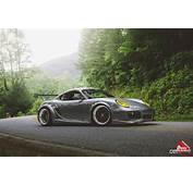 Stanced Porsche Cayman