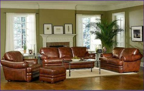 brown leather sofa paint color centerfieldbar