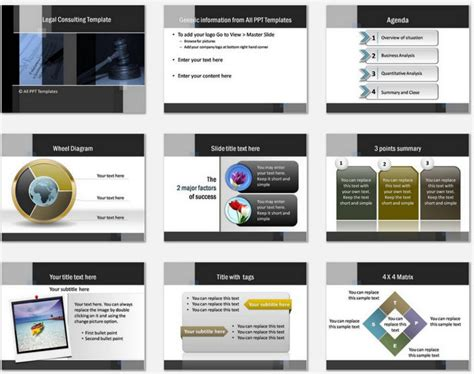 Powerpoint Templates Consulting Gallery Powerpoint Template And Layout Consulting Slide Templates