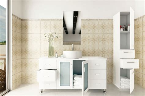 25 inch vanity top with sink abaco 47 25 inch vessel sink bathroom vanity solid wood top