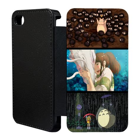 Studio Ghibli Iphone Semua Hp studio ghibli flip wallet cover for apple iphone no 10 ebay