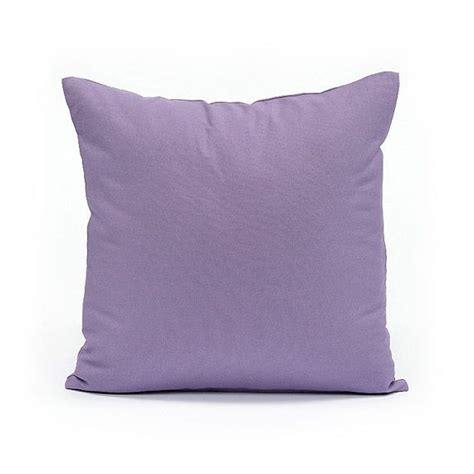 20 quot x 20 quot solid lavender throw pillow cover