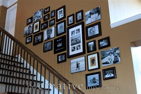 gallery wall how to the creative imperative stairway gallery wall