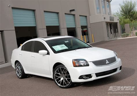 2010 mitsubishi galant with 20 quot giovanna kilis in chrome