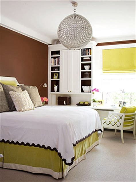 brown and green bedroom decorating in green classic fauxs finishes