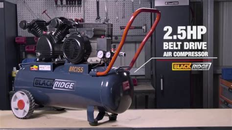 blackridge air compressor belt drive 2 5hp supercheap auto