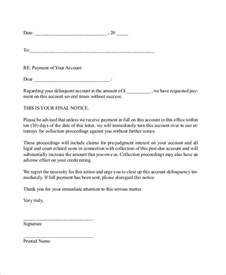 Letter Of Demand For Payment Template by Sle Demand Letter 10 Exles In Word Pdf