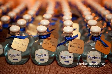 Mini tequila bottles!   BUM BUM DA DUMMM   Pinterest