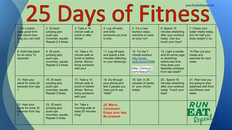 the 25 day challenge books 25 days of fitness challenge day one plank