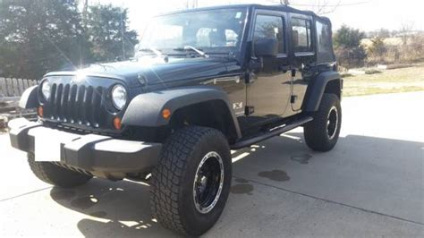 Jeeps For Sale In Mo 2009 Jeep Wrangler Unlimited X For Sale In Springfield