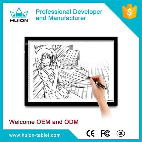 huion light box led tracing pad drawing board a3 buy