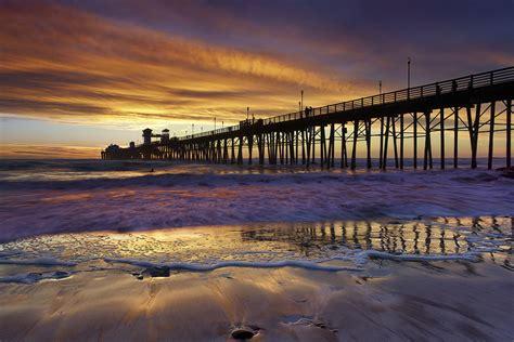 oceanside surf oceanside pier california  lone