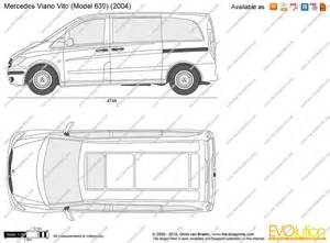 Mercedes Vito Specifications The Blueprints Vector Drawing Mercedes Viano