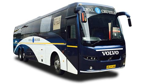royal cruiser  bus ticket booking volvo bus ticket kolkata