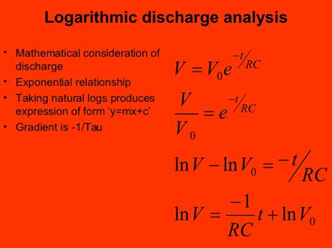 capacitor discharge logarithmic capacitor discharge logarithmic 28 images ap physics 2 capacitatance ultracapacitor and