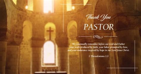 Pastor Appreciation Poems, Quotes and Wording Ideas