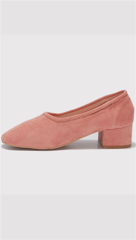 Flatshoes Suede http theloeil collections shoes products blush socks