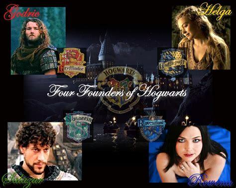founders of four founders of hogwarts by emilyj0092 on deviantart