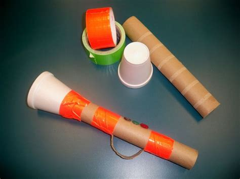 Paper Towel Crafts For Preschoolers - trumpet crafts for read it again paper towel