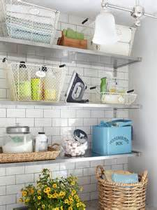 Laundry Room Storage Shelves Laundry Room Shelves Keep Everything Organized And Within Reach