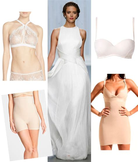 ropa interior boda cuatro tipos de lencer 237 a para cuatro vestidos de novia