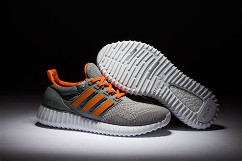 adidas yzy adidas yzy boost grey orange white adidas orange