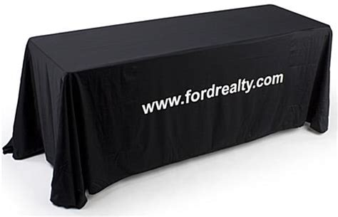 custom table drapes black table drape 6 foot table dress up those tired old tables