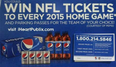 new publix sweepstakes win nfl tickets publix gift cards - Publix Sweepstakes
