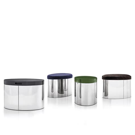 Raymond Side Table Ottoman Designed By Rodolfo Dordoni Ottoman Side Table