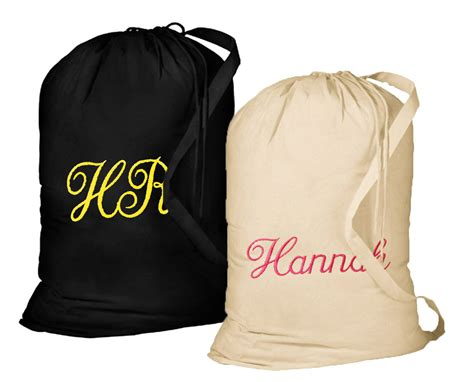personalized laundry large personalized laundry bag with shoulder