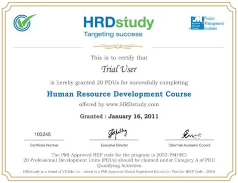 Certification Courses For Mba Hr Students by Hrdstudy Hrci Sphr Phr Gphr Certification