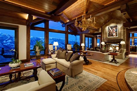 view interior of homes extreme homes of colorado see aspen s summit house at