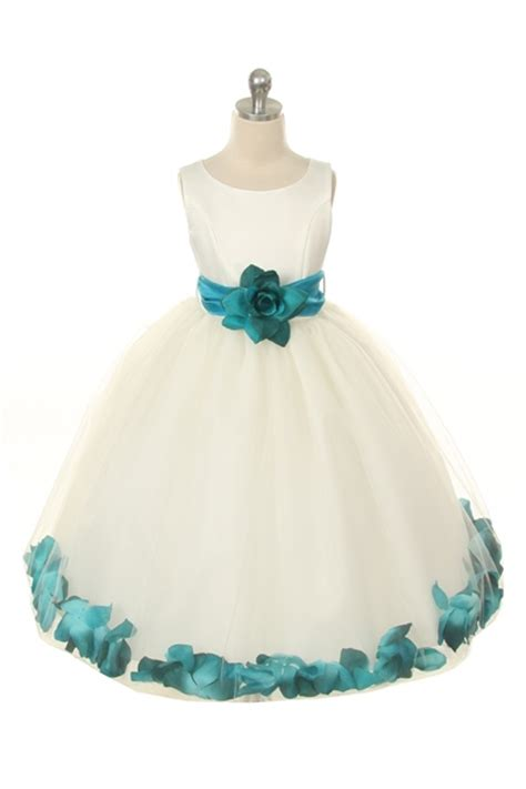 mbivtl flower girl dress style  choice  white