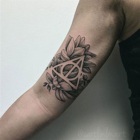 design upon meaning 105 harry potter tattoo designs meanings specially