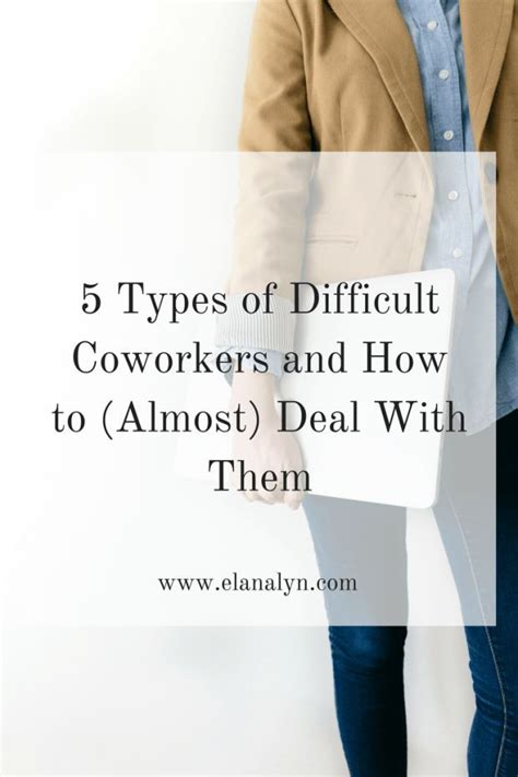 4 Types Of Up And Ways To Deal With Them by Career Infographic 5 Types Of Difficult Coworkers And