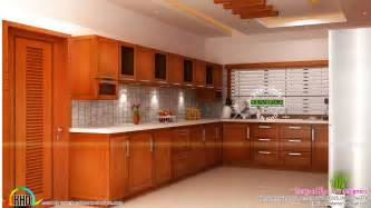Modular kitchen, living and bedroom interior   Kerala home design and floor plans