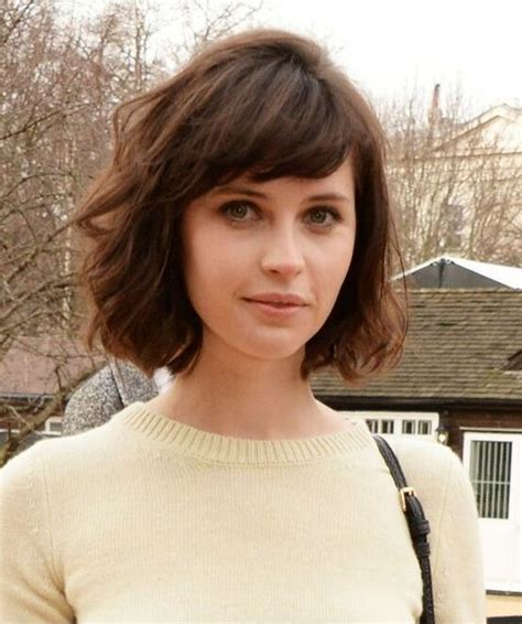 cut and style side bangs fine hair short textured bob with bangs for fine hair hair world