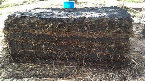 Pupuk Kotoran Sapi pembuatan kompos sisa pangkasan pelepah sawit dengan promi