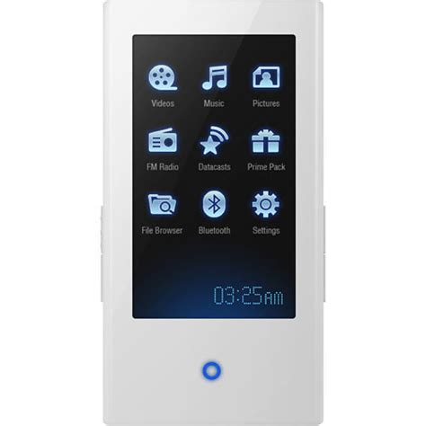 On With Samsungs P2 Portable Media Payer by Samsung P2 4gb Portable Media Player White Yp P2jaw B H