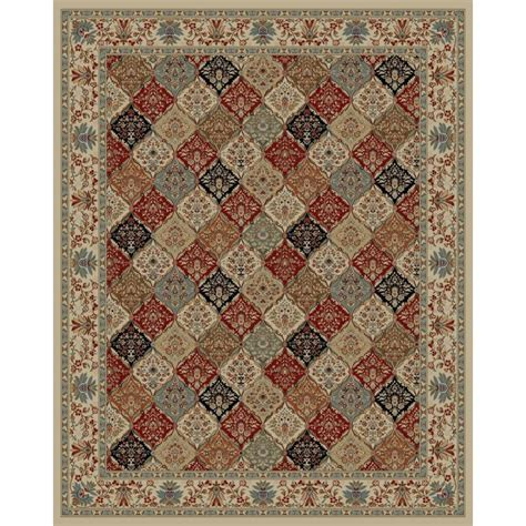 Lowes Area Rugs 8 X 10 Shop Style Selections Gabbett Multicolor Indoor Area Rug Common 8 X 10 Actual 7 83