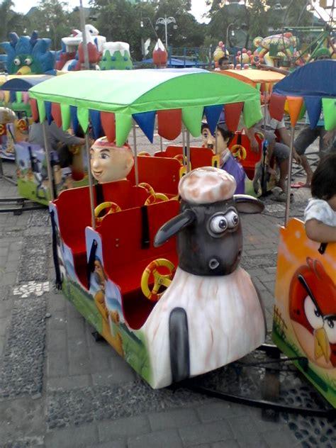 Kereta Bayi Di Pasar Rumput jual kereta mini murah amusement ride 085280647743