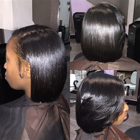 pressed hairstyles silk press natural hair at home google search hair