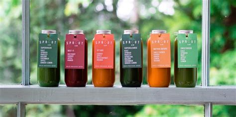 Juice Detox Galway by Sprout Co S Cold Pressed Juice Cleanse Weightmonkey