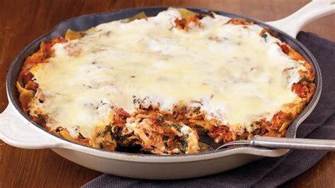 Betty Crocker Lasagna Recipe With Cottage Cheese by Turkey Florentine Skillet Lasagna Finecookingblog