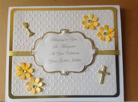 world 226 s greatest mom card favecrafts com this was a special request for a nuns golden jubilee my