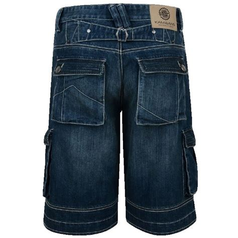 mens king size denim cargo shorts big mens clothing